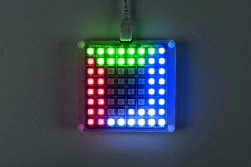 Resultado de imagen de Scratch LED Rainbow Matrix