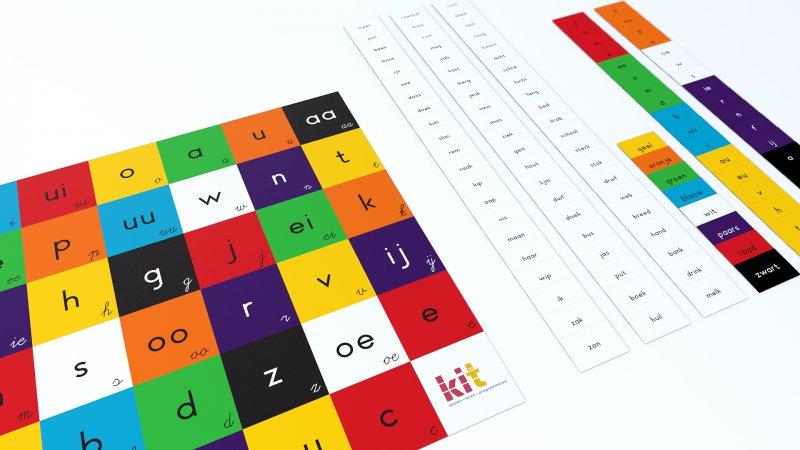 KIT Lettermat 3 - Letters, cijfers en kleuren oefenen met de Bee-Bot + gratis printable!!!